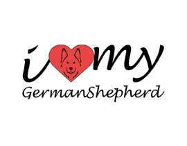 Tasnubapipasha tarafından Logo Design for ilovemyGermanShepherd.com için no 30