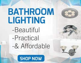 #3 for Design a Banner for Email - Bathroom Lighting af twodnamara