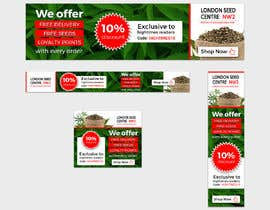 #22 for Advertisemnt Banners for U.K's Largest Cannabis Seed Website. by bivash7