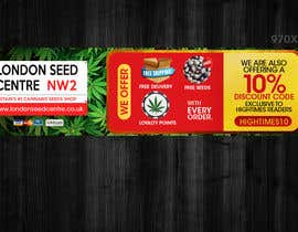#11 for Advertisemnt Banners for U.K's Largest Cannabis Seed Website. by murugeshdecign
