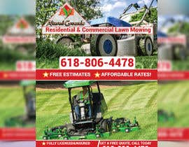 #47 for Design an Advertisement for lawn mowing af monirkhan2928