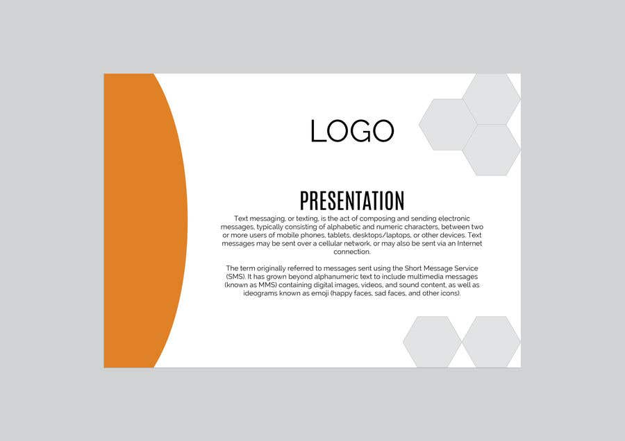 Entry #2 by AmritaBhardwaj for Need a powerpoint template