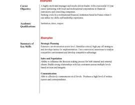 nº 4 pour Make my resume awesome to get me a job par YvonneLS