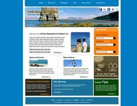 #18 для Website Design for Arctic Experience Iceland от mkhadka