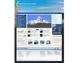 nº 12 pour Website Design for Arctic Experience Iceland par mkhadka