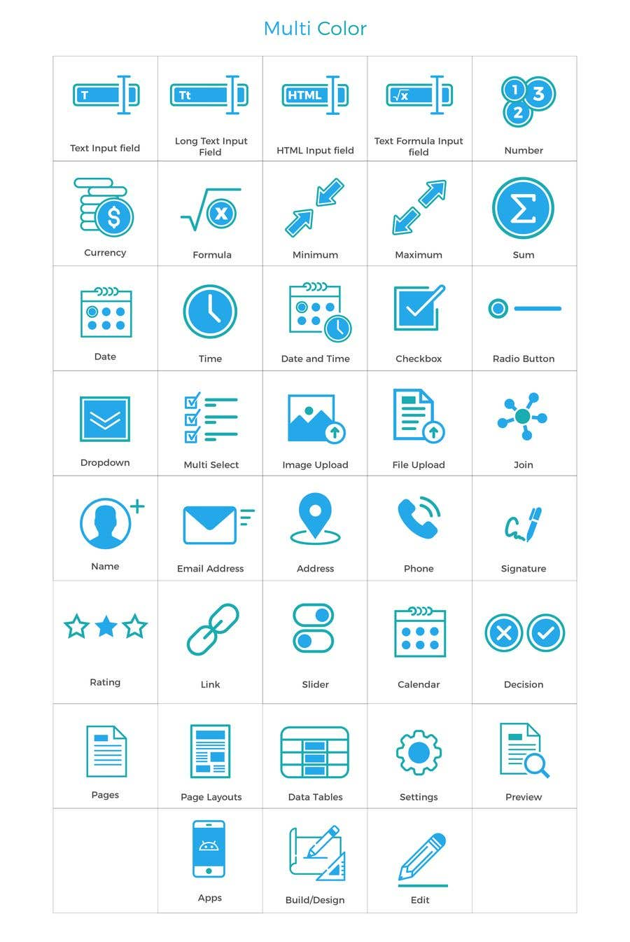 Entry #13 by babarhossen for Need about 45 vector icons