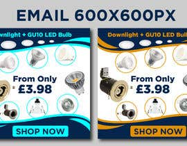 #51 for Design an email banner - lighting by owlionz786