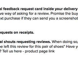 DHSharma tarafından Find new ways increase increase ratings/customer reviews için no 8