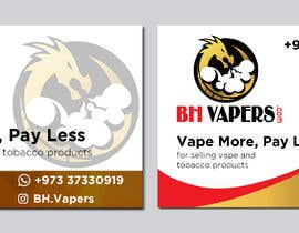 #62 for Design a Banner 400 x 280cm Vape Shop LED Banner by owlionz786