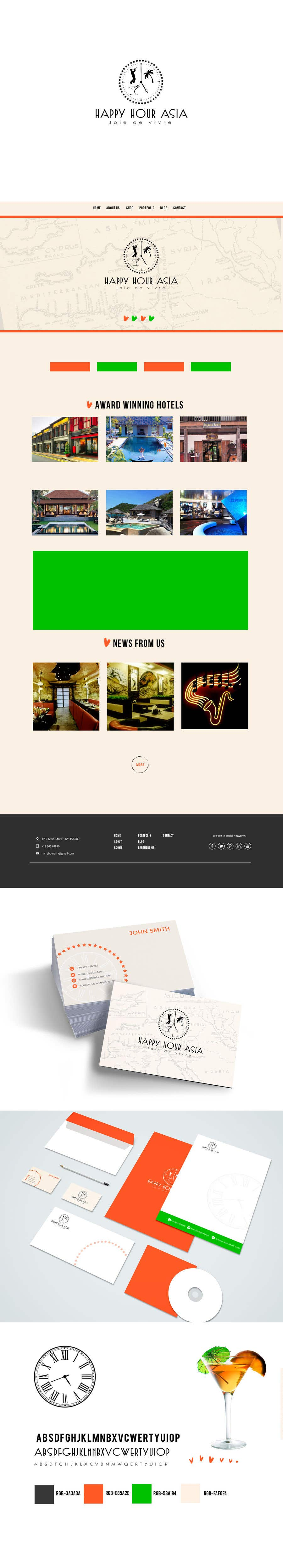 Proposition n°174 du concours Design logo/branding identity + customise wordpress theme for online content/marketing business
