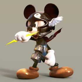 Gambar                             Photoshop Mickey Mouse in the st...