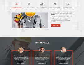#27 para Anvil Roofing and Siding Landing Page Mockup de ByteZappers
