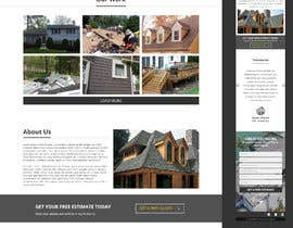 #26 para Anvil Roofing and Siding Landing Page Mockup de Orko30