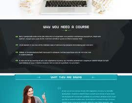 nº 2 pour Design Mockup: Sales Page For Online Course par webidea12