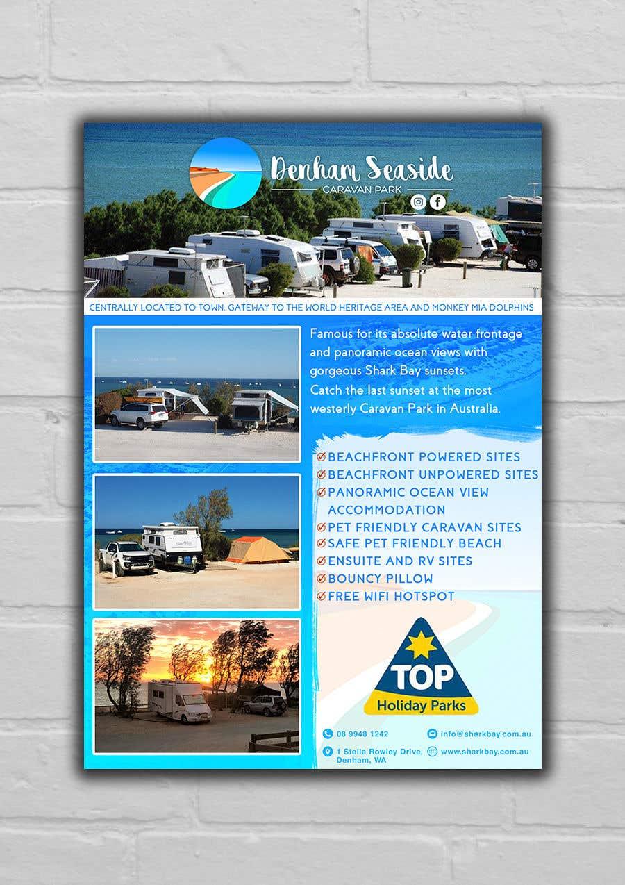 Bài tham dự cuộc thi #36 cho Design an A4 Advertisement for Denham Seaside Caravan Park