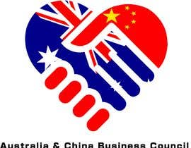 "jhonedeleyos tarafından Logo design for "" Australia China Business & Culture Council"" colour base is navy blue and red, please reference both national flags için no 11"