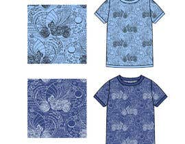 #86 untuk Create a Handrawn/Painted Seamless Pattern for Boy's/Men's Textile oleh olgdesigner