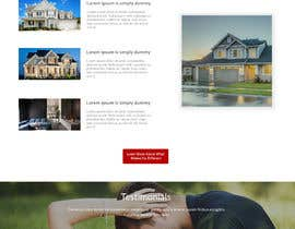 #2 for Real Estate Landing Page Template by mazcrwe7