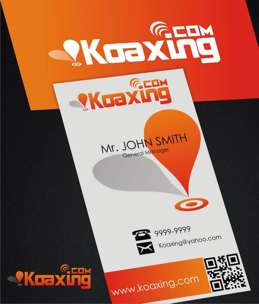 #855 for LOGO DESIGN for marketing company: Koaxing.com by ezra66
