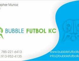 #11 cho Design some Business Cards for Bubble Futbol KC bởi creazinedesign
