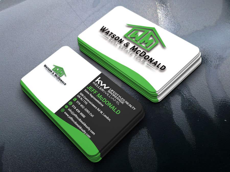 Entry 46 by ratonali for real estate business card template design contest entry 46 for real estate business card template design reheart Images