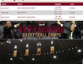 #7 for Professional Basketball Camp flyer by AmritaBhardwaj