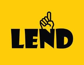 "#18 untuk A logo done for ""LEND"" oleh RaadSafwan"