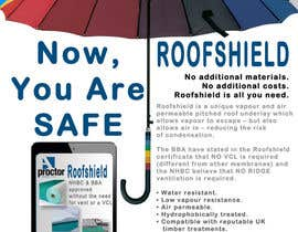 #141 cho Roofshield Advertisement Design for A. Proctor Group Ltd bởi handokogallery