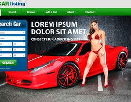 #8 for Design a landing page for my website with no functionality af sb1260385
