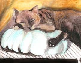 Nro 11 kilpailuun Draw/paint my cat käyttäjältä artepentrucopii