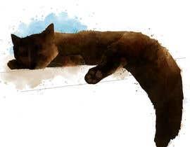 Nro 13 kilpailuun Draw/paint my cat käyttäjältä Ranao