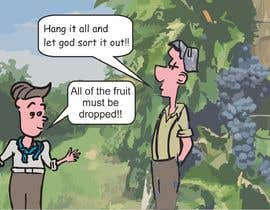 ferdstation tarafından Vineyard manager and winemaker cartoon için no 13
