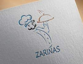 alimema tarafından Logo for Name board - Name of the restaurant is Zarinas  I would prefer a black background , however not specific on it , suggestions are welcome. için no 53
