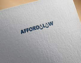 #11 para I need a logo for my lawyer referral site called: affordalaw. Its related to getting affordable legal servies. Thank you. por Soha82