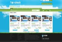 Graphic Design Konkurrenceindlæg #24 for Website Design for Raincheck