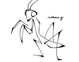 #6 cho Praying Mantis Illustration bởi NathaniaG