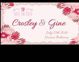 #22 for Wedding Save they date card design by savitamane212