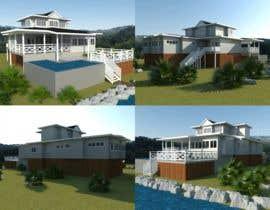 #7 for house plan 3d rendering af richardwct