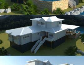 #11 for house plan 3d rendering af richardwct
