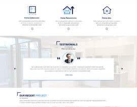 #33 for Design a website for a Builder/Carpenter af rosepapri