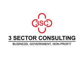 """Nro 36 kilpailuun The business name is """"3 Sector Consulting."""" käyttäjältä Hasibulit"""