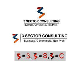 """Nro 5 kilpailuun The business name is """"3 Sector Consulting."""" käyttäjältä Abhiroy470"""