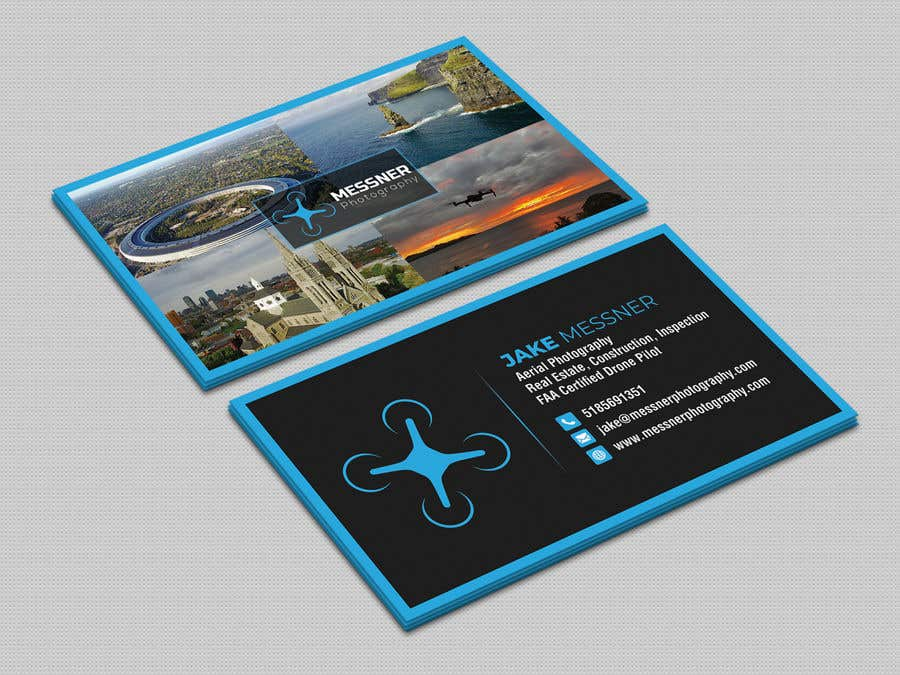 Aerial Photography Business Card
