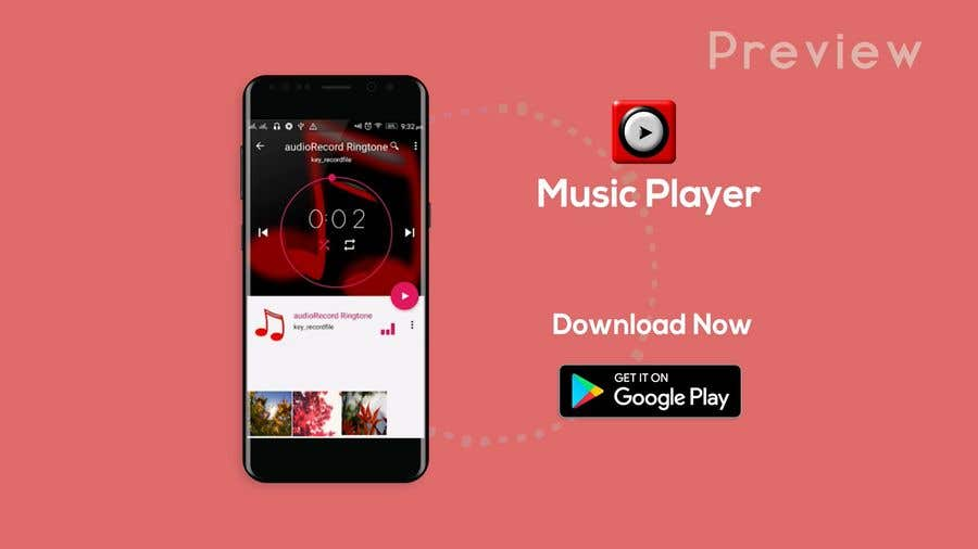 Google Play store promo video (30 seconds video for my Music