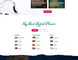 #16 for Design a travel consultant personal website af blackeye77