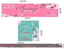 #3 para Design 3 x Banners - For Spring Sale de Naderadv