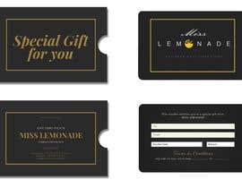 #7 cho E - Gift Card  + printable version with envelope bởi IbrahimKayed