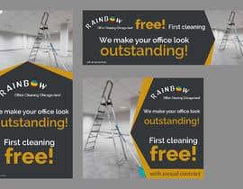 Nro 43 kilpailuun Design banners for office cleaning company käyttäjältä owlionz786