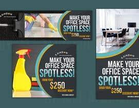 Nro 37 kilpailuun Design banners for office cleaning company käyttäjältä jacemizel