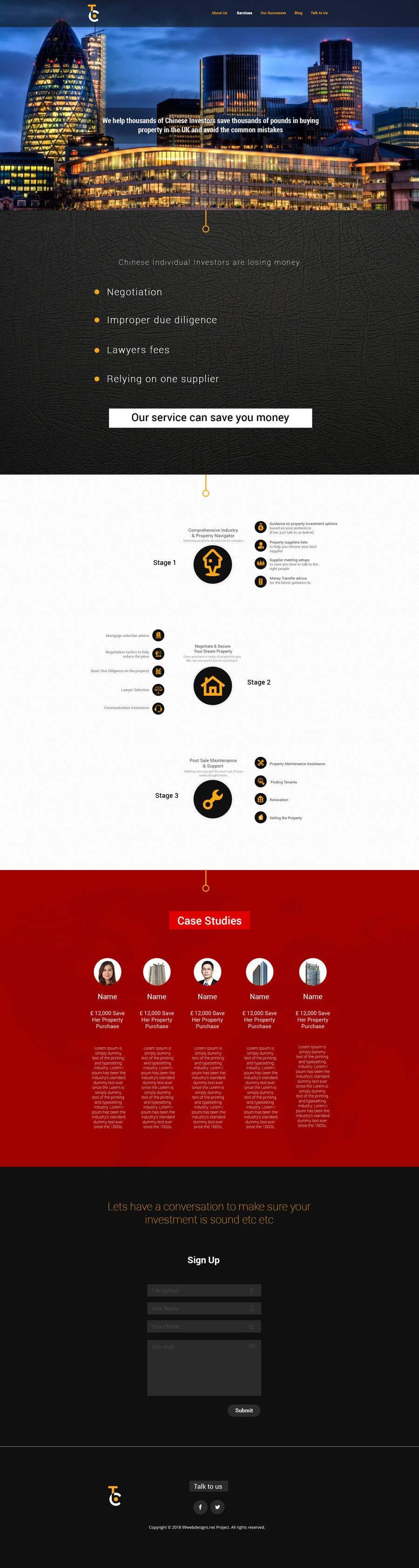 Penyertaan Peraduan #48 untuk Design a New Website Mockup (Just Design, No Code)!